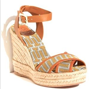 ✨NEW✨ Tory Burch Espadrille Wedges